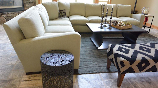 Ridge at Hangman beauty. Decorating and upholstery by Nook Interiors.